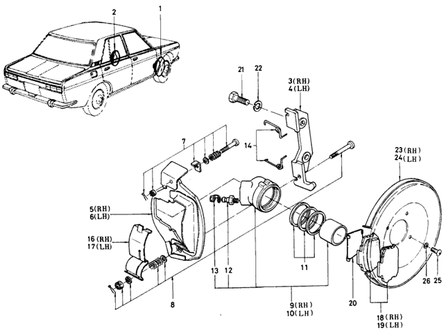 datsun 510 alternator wiring diagram