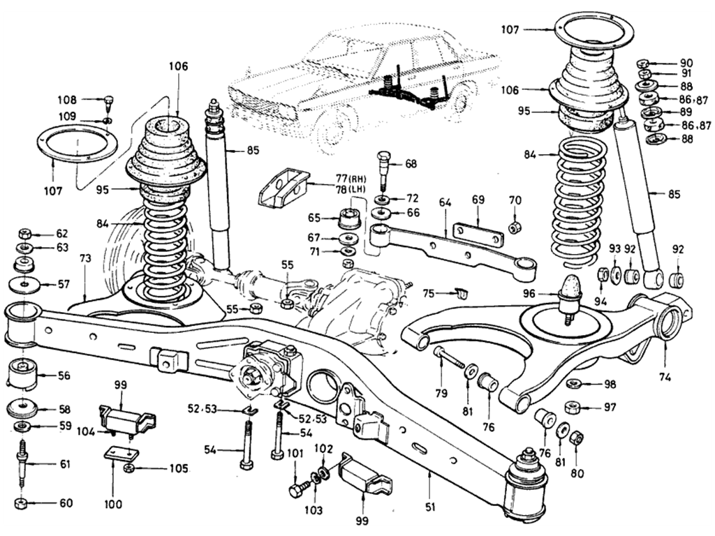 datsun 510 headlight wiring diagram
