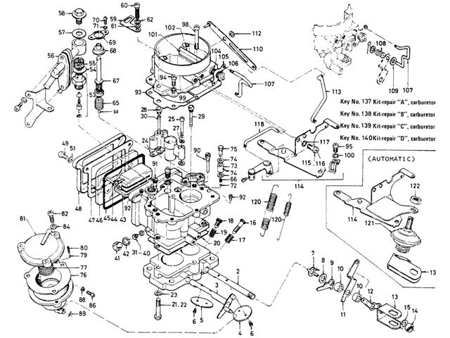 Hitachi Carburetor manual